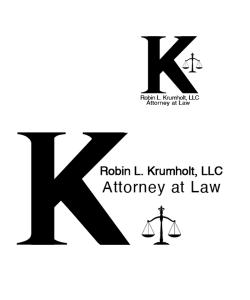 Law Attorney Logo and Submark Design